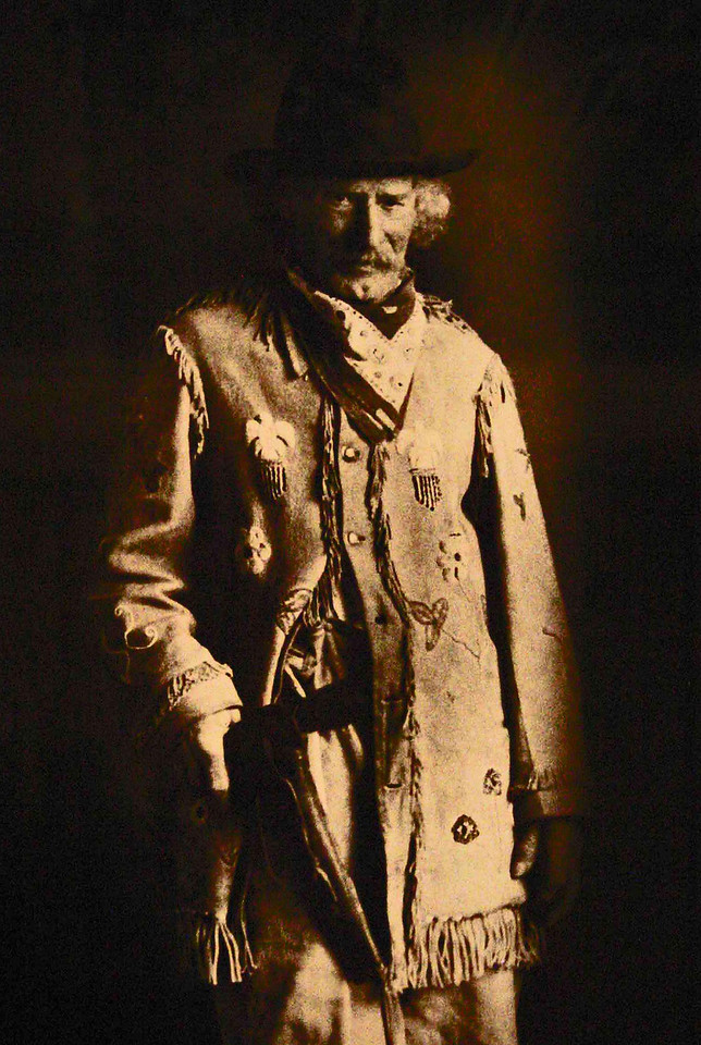 Deadwood Dick posed for this photo, which is on display in the Days of '76 Museum.