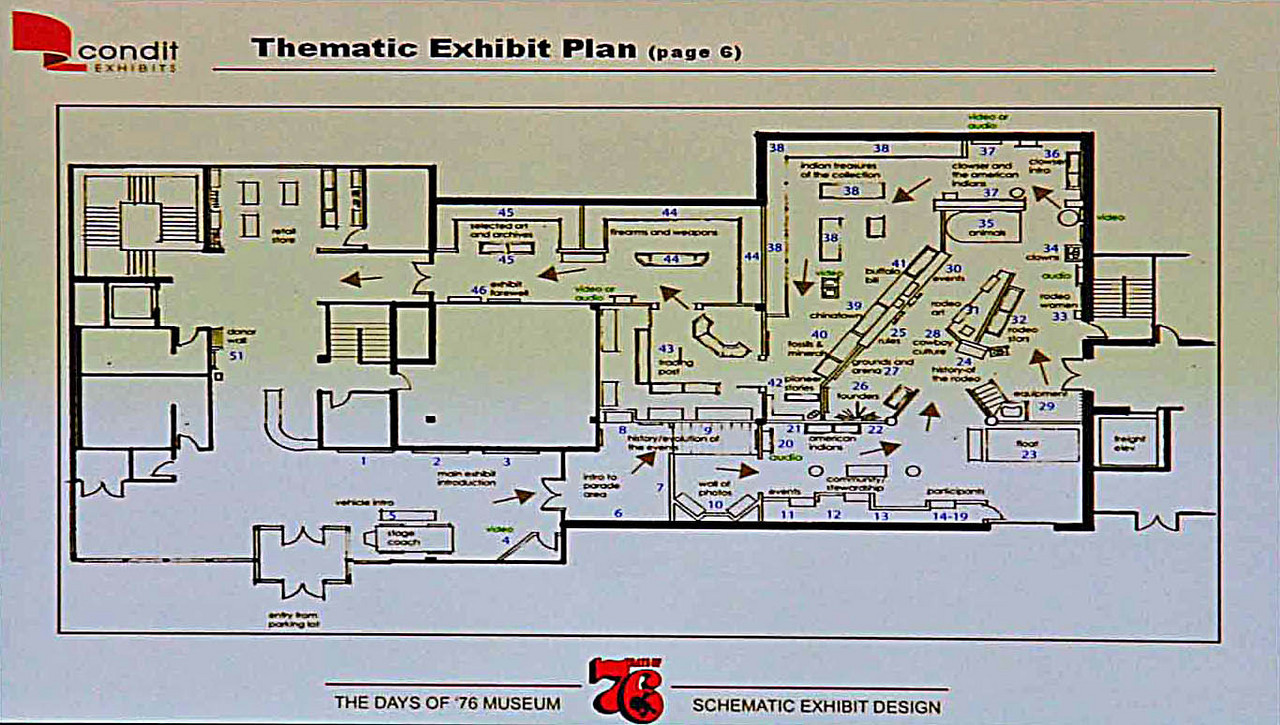 Deb Gangloff narrated a PowerPoint presentation that included a schematic of the floor plan for the two-story structure.