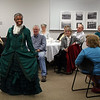 """Aunt Lou"" takes a short stroll around the room during her visit to the LCHS Fall Meet at the Homestake Adams Research and Cultural Center (HARCC) in Deadwood."