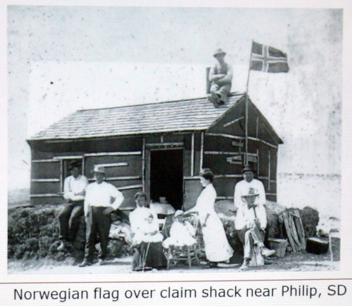 Among the many ethnic groups who came to South Dakota were the Norwegians.  The Homestead Act of 1862 was a significant incentive for many immigrants.