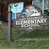 At the top of Main Street in Deadwood, you'll find the Lead-Deadwood Elementary School (the old High School).  Positioned right next to the front door is the bronze cannon that's been on guard at the school for well over a century.