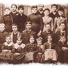 <b><i>CA 1888 - DEADWOOD DISTRICT #50 SCHOOL</i></b> Thanks to Jerry Bryant for sharing this great old photograph.  Photo key reads: 1-Nellie Carrol; 2-Effie Kearney; 3-Gene Ducharme; 4-Evaline Ducharme; 5-Teacher Cora Parsons; 6-Ed Carroll; 7-Rosie Kearney; 8-Alf Carroll; 9-Alvina Montehey; 10-(Charlie) John Kearney; 11- ____Montehey; 12-Charlie Kinghorn; 12-Joe Ducharme; 14-Frank Beck; 15-Dave Kinghorn; 16-Geo. Kearney; 17-Elva Swanson; 18-Geo. Carroll; 19-Hattie Beck; 20-Lena Odan; 21-Evaline Ducharme (again?); 22-Alice Beck;  23-Rose Ducharme; and 24-Robert (Cody) Kearney.  Click photo to choose a larger size image.