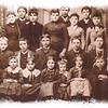 <b><i>CA 1888 - DEADWOOD DISTRICT #50 SCHOOL</i></b> Thanks to Jerry Bryant for sharing this great old photograph.  Photo key reads: 1-Nellie Carrol; 2-Effie Kearney; 3-Gene Ducharme; 4-Evaline Ducharme; 5-Teacher Cora Parsons; 6-Ed Carroll; 7-Rosie Kearney; 8-Alf Carroll; 9-Alvina Montehey; 10-(Charlie) John Kearney; 11- ____Montehey; 12-Charlie Kinghorn; 12-Joe Ducharme; 14-Frank Beck; 15-Dave Kinghorn; 16-Geo. Kearney; 17-Elva Swanson; 18-Geo. Carroll; 19-Hattie Beck; 20-Lena Odan; 21-Evaline Ducharme (again?); 22-Alice Beck;  23-Rose Ducharme; and 24-Robert (Cody) Kearney.  Click photo to choose a larger size image.