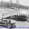 <I><b>THE FLOOD OF 1972 NEAR NEMO ROAD</i></b>  There has been considerable coverage about the devastation that hit the immediate Rapid City, South Dakota, area in the massive flood of 1972.  As you might expect, there were other areas in the Black Hills region that were affected by the flood.  The following flood photos were taken the day after the flood by Vern Kraemer on June 10, 1972 and provided to us by his wife, Norma.  Este Creek after the flood of 6/9/72.  The bridge crossing the road on Estes Creek on Nemo Road.