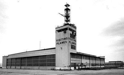 View of a control tower at the naval base - Green Cove Springs, Florida in 1962. State Archives of Florida, Florida Memory, http://floridamemory.com/items/show/80777