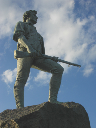 Minuteman Statue, Lexington