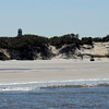 Two Defunct Nav Aids - The Little Cumberland Island Lighthouse (actually used by locals) and the Green 7 Can from the ocean entrance to St. Andrews Sound - on the North L.C. Beach