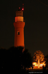Mayport Lighthouse on Mayport Naval Station