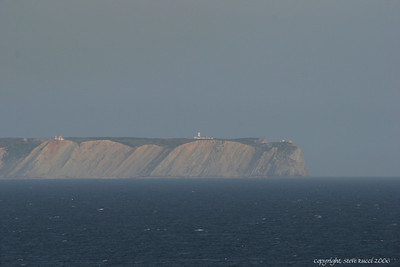 Lighthouse of Handle Espichel - Portugal.  This picture was taken from a few miles away.