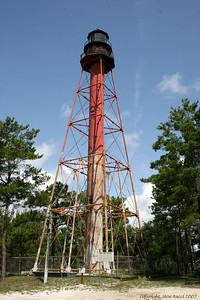 Crooked River Lighthouse -  Carrabelle, Florida.
