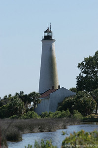 St. Mark's Lighthouse - St. Mark's NWR