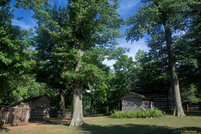 """Lincoln Boyhood National Memorial<br /> <br />  <a href=""""http://www.nps.gov/libo/index.htm"""">http://www.nps.gov/libo/index.htm</a><br /> <br /> The Lincoln Living Historical Farm, next to the cabin site memorial."""