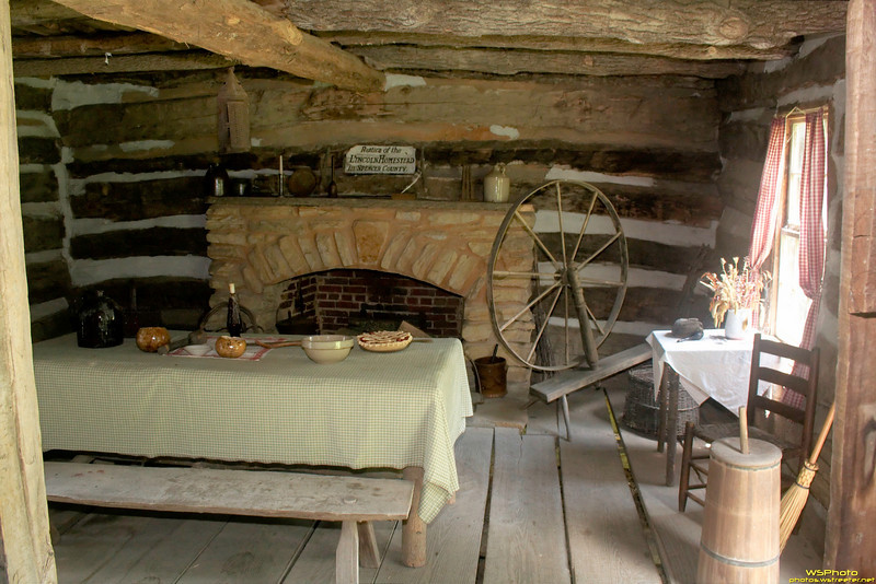 """Lincoln Pioneer Village<br /> <br /> Lincoln Cabin<br /> <br /> The Lincoln Pioneer Village is located at the west end of Main Street in Rockport, Indiana, dedicated July 4, 1935. Portions of the 1955 movie """"The Kentuckian"""" were filmed at this site. This site is a hidden Indiana treasure.<br /> <br /> For much more info about the Lincoln Pioneer Village, see the best website dedicated to it (needs Microsoft Internet Explorer because of the menu system):  <a href=""""http://www.lincolnpioneervillage.org/"""">http://www.lincolnpioneervillage.org/</a><br /> <br />  <a href=""""http://www.legendaryplaces.org/lincoln-pioneer-village-a-museum"""">http://www.legendaryplaces.org/lincoln-pioneer-village-a-museum</a>"""