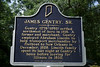 "James Gentry, Sr. Historic Landmark<br /> <br /> Location: SR 162, Lincoln State Park, 0.5 mile east of Gentryville & junction of SR 62/US 231, north side of highway. (Spencer County, Indiana)<br /> <br /> Gentry (1778-1840) settled northwest of here in 1818. A farmer and merchant, Gentry employed Abraham Lincoln to help transport merchandise by flatboat to New Orleans in December, 1828. Lincoln family spent its last night at Gentry's home before leaving for Illinois in 1830.<br /> <br />  <a href=""http://www.in.gov/history/markers/301.htm"">http://www.in.gov/history/markers/301.htm</a>"