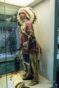 Here's the dress of a Sioux of the time.