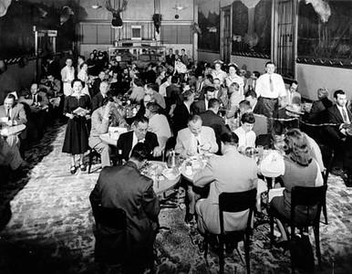 1940, Main Dining Room
