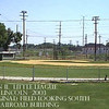 """A"" Field - 2003<br /> Backstop is the original from 1950."