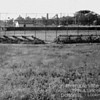ORIGINAL FIELD - ABOUT 1950<br /> Photo taken near the railroad tracks.  Backstop is still in use in 2013.  This was a state-of-the-art field in it's day, as was Harvey's.  Only mistake was building dugouts below ground--they flooded when it rained!
