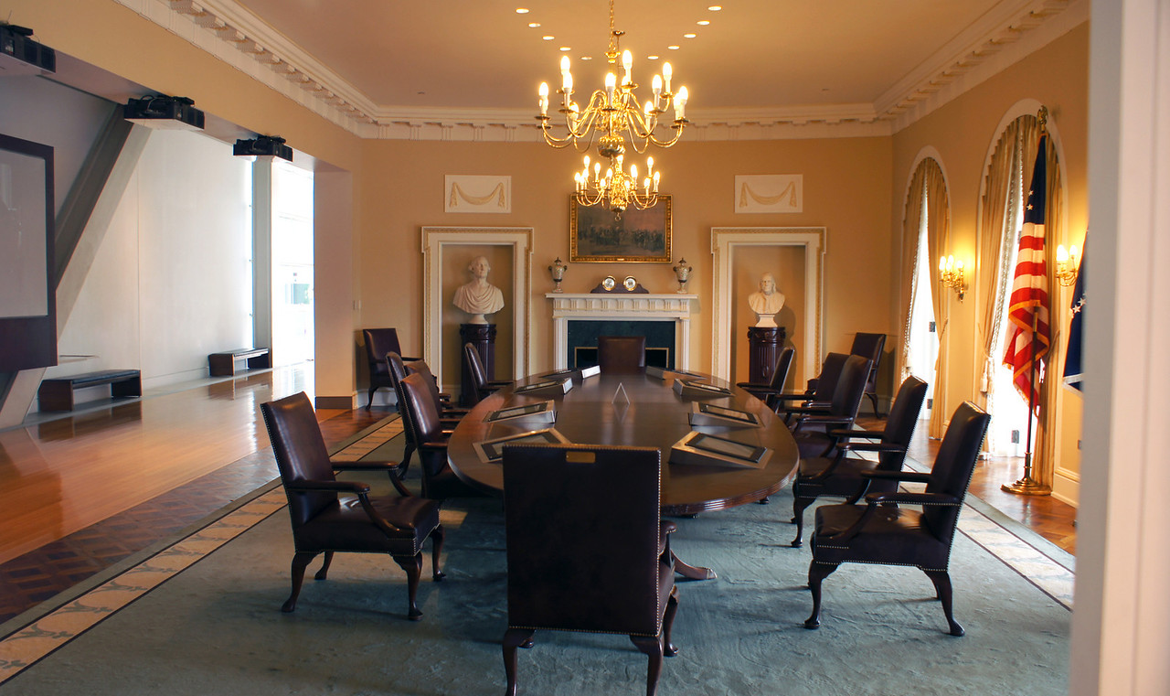 Replica of the Cabinet Room