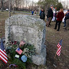 Annual Patriot's Day ceremony at Liberty Square in Littleton, where minutemen mustered to march to the battle in Concord.  (SUN/Julia Malakie)