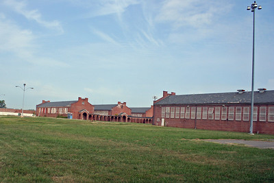 Cell buildings with in the maximum security area.
