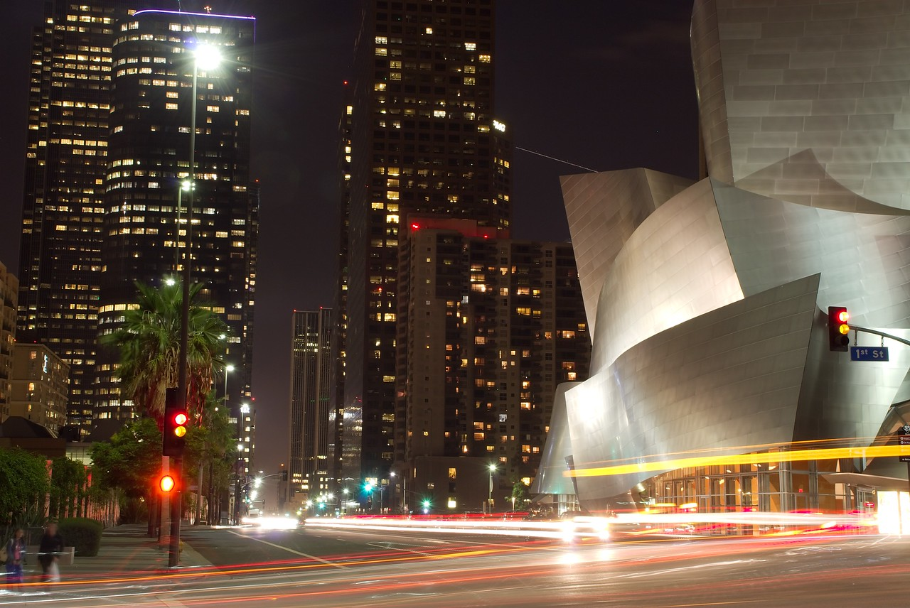 "Downtown Los Angeles @ the Disney concert hall  <a href=""http://www.kevitivity.com"">www.kevitivity.com</a>"