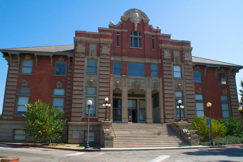 Los Angeles County Coroner building.