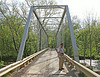 Bridge over Catoctin Creek was originally built over Goose Creek in 1900.  Was moved to Catoctin Creek in 1932.