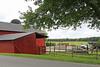 The East Lynn Farm barns