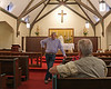 Gene Scheel in St. John's Church