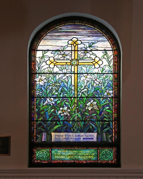 St. James Church, Tiffany window