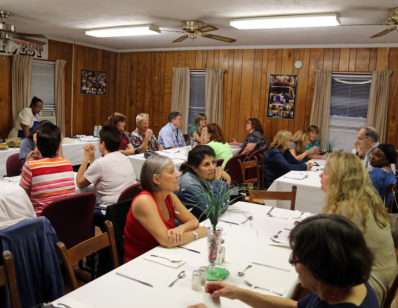 Church supper at the Austin Grove United Methodist Church