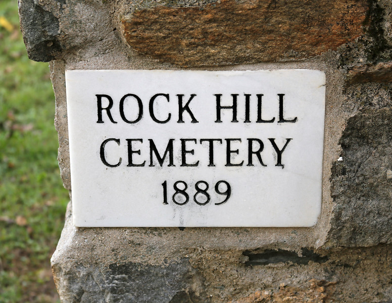 Rock Hill Cemetery, 1889