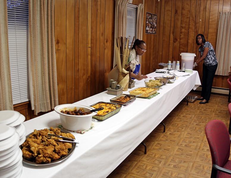 Church supper at the Austin Grove United Methodist Church