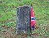 A Confederate burial