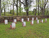 Mt. Zion Church Historic Park, 40309 John Mosby Highway, Aldie VA<br /> Confederate Markers...no actual burials under them.