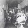 John Kinder's Barber Shop.  John Kinder, barber