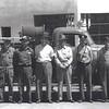 Left to Right, Coy Shetley, TR Lewis, Lindel James, R. Smith, John D. Chandler, Harry Shetley adn Buford Ward