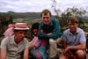 1987 MAD Picnic at Hanging Rock. Greg Wheeler (President 1987), Julianne Jaques, Michael McCormack (President 1989), Chris Freeland.