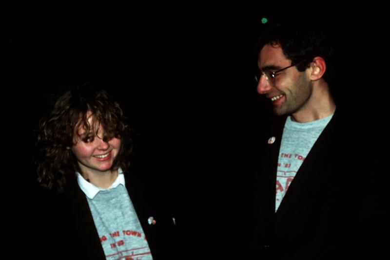 1985 Andy Roberts, Mark Attard.