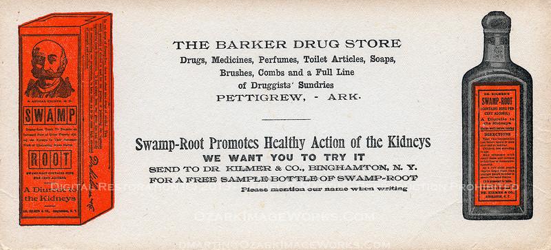 Blotter -- Dr. Kilmer's Swamp Root
