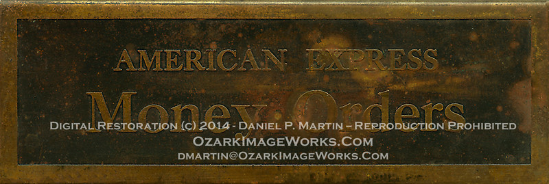 The Citizens Bank of Pettigrew, Arkansas - American Express Money Orders