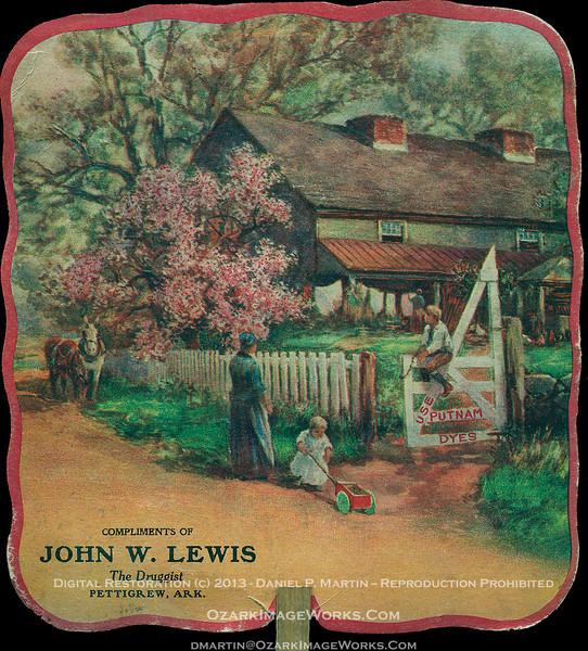 Promotional Fan - Putnam Dyes