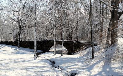 Stone bridge near the Cutler-Donahoe Bridge