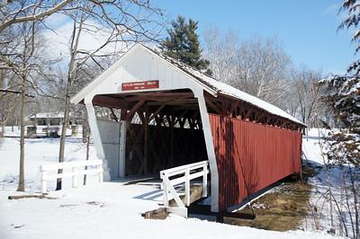 Cutler-Donahoe Bridge Madison County