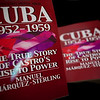 Manuel Márquez Sterling's CUBA 1952-1959: The True Story of Castro's Rise to Power.  Book signing at Columbia University :