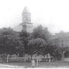 Court House and upper corner of Jail House Circa 1909