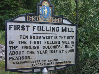 First Fulling Mill, Route 1, Rowley