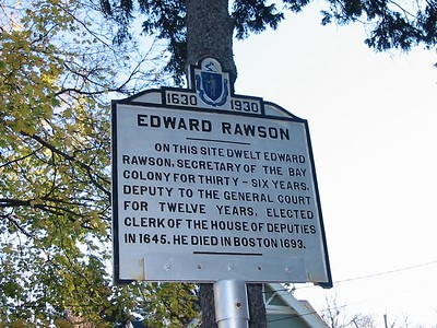 Edward Rawson, High St, Newburyport