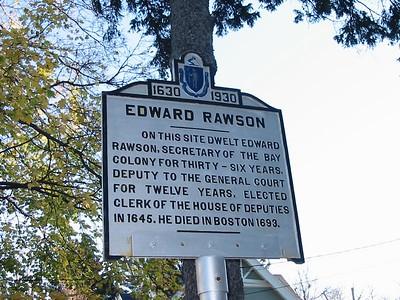Edward Rawson, High St, Newburyport